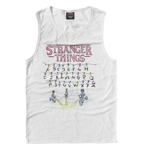 Майка Print Bar Stranger Things the beautiful stranger