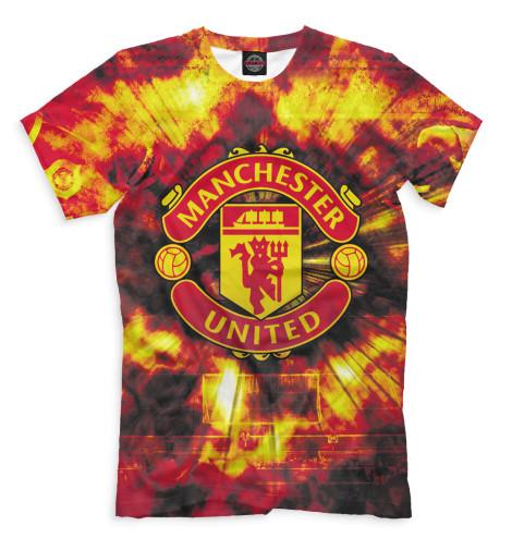 Мужская футболка Manchester United герб