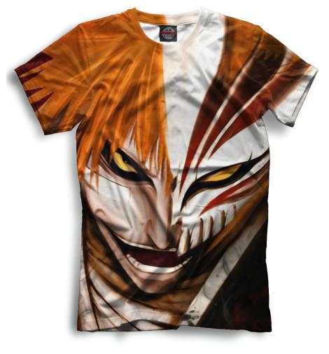 Мужская футболка Ичиго Куросаки