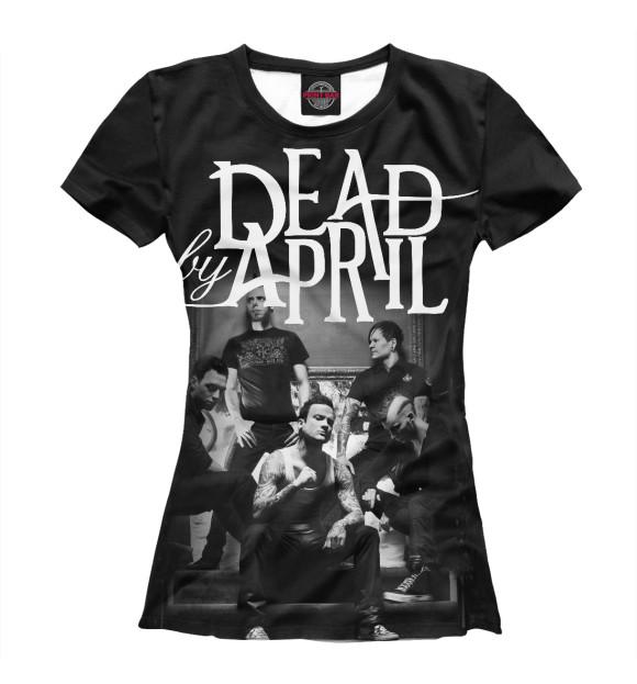 Купить Женская футболка Dead by April MZK-964661-fut-1