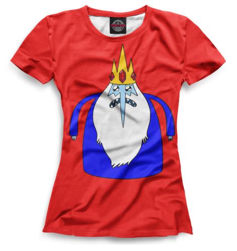 Женская футболка Ледяной Король