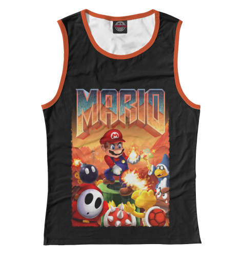 Майка Print Bar Mario Doom худи print bar mario doom