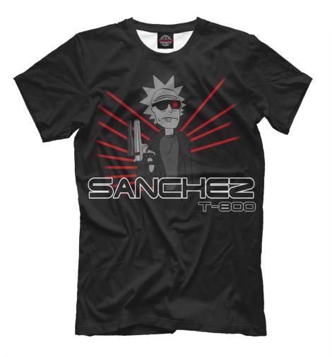 Футболка Print Bar Sanchez T-800