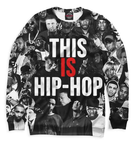 Женский свитшот This is Hip-Hop