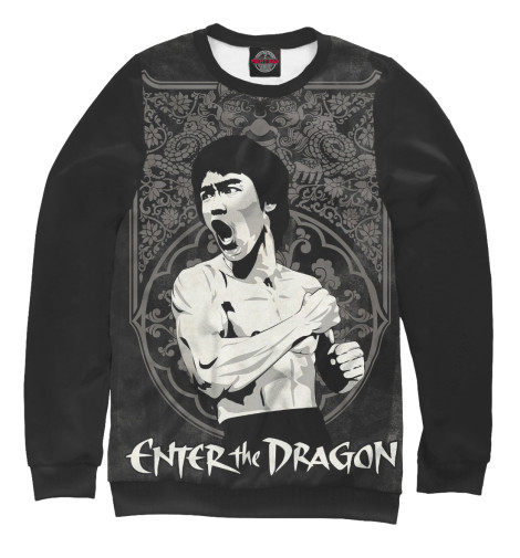 Свитшот Print Bar Enter the Dragon chris wormell george and the dragon