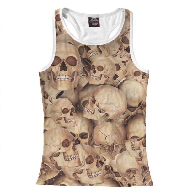 Купить Женская майка-борцовка Death's head APD-658877-mayb-1