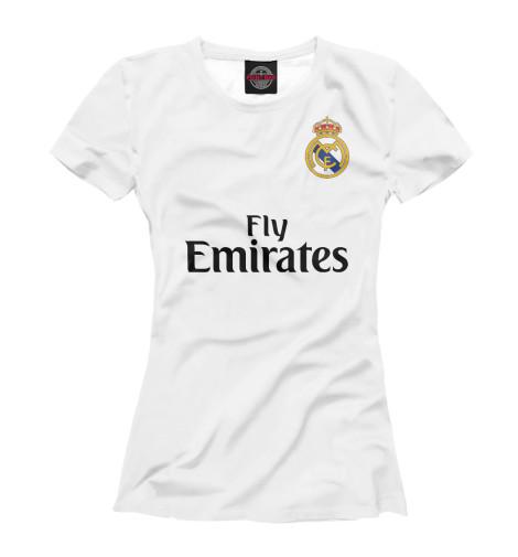 Футболка Print Bar Форма Реал Мадрид детская футболка классическая унисекс printio реал мадрид