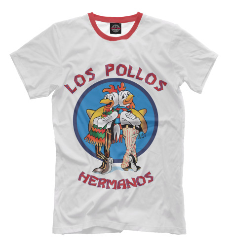 Футболка Print Bar Los Pollos Hermanos чехол для iphone 6 глянцевый printio los pollos hermanos breaking bad