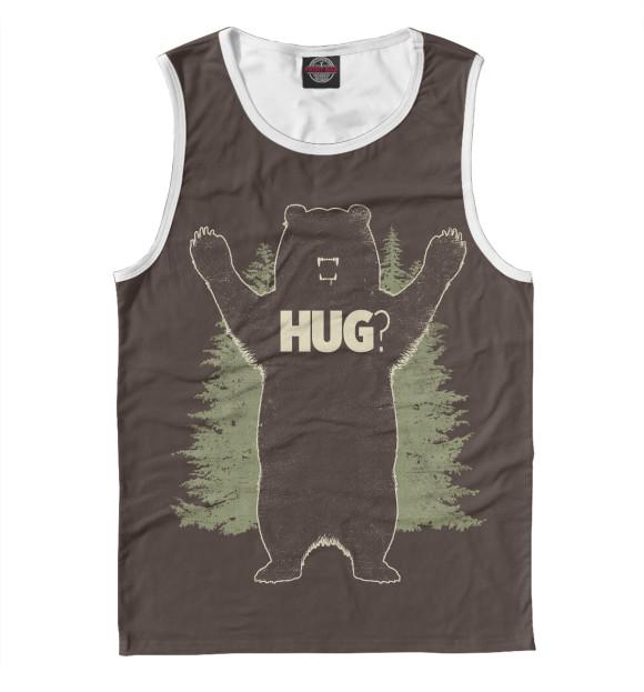 Купить Майка для мальчика Медведь MED-354159-may-2