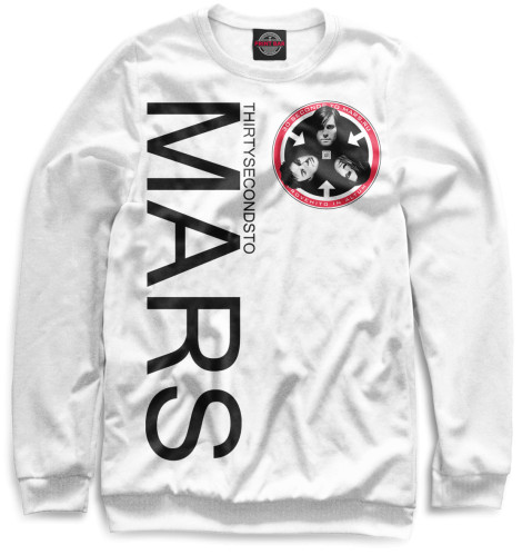 Женский свитшот 30 Seconds to Mars