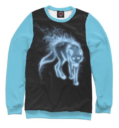 Свитшот Print Bar Неоновый волк