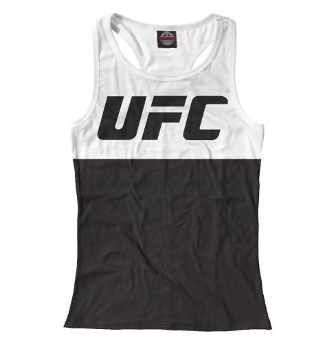 Майка борцовка Print Bar UFC black ufc 2 ps4