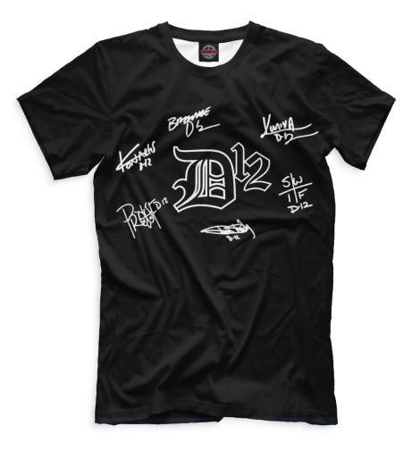Мужская футболка D12