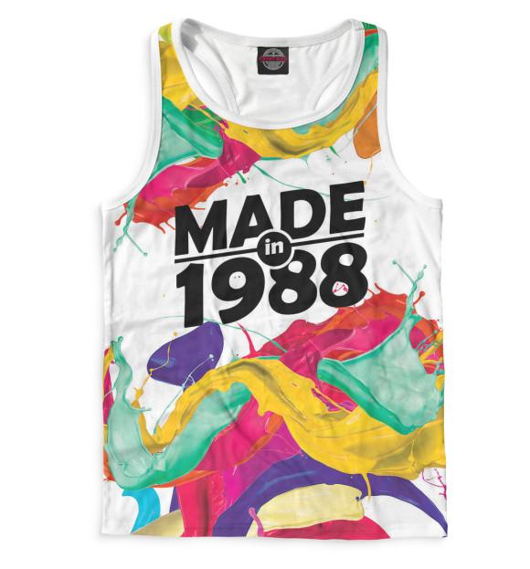 Купить Мужская майка-борцовка Made in 1988 DVV-814969-mayb-2