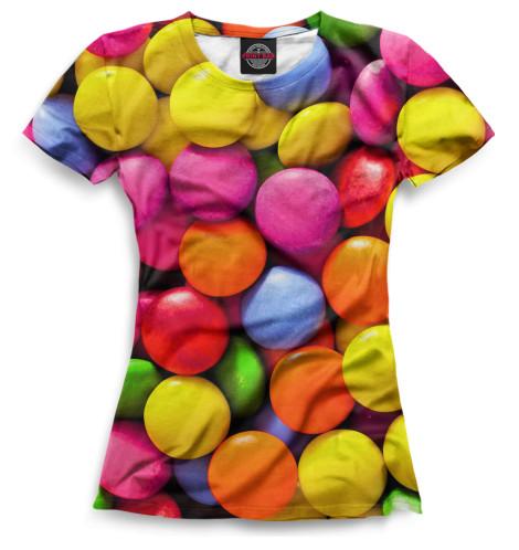 Женская футболка Драже