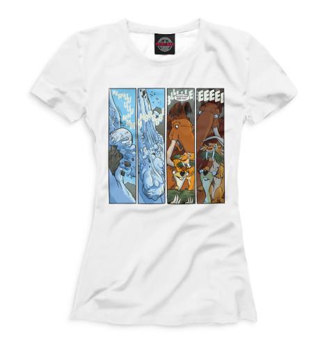 Женская футболка Ледниковый период