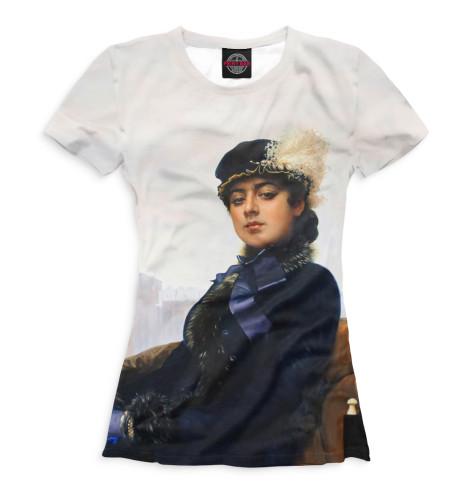 Женская футболка Неизвестная