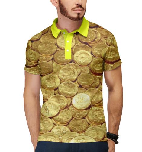Поло Print Bar Золотые монеты монеты в сургуте я продаю