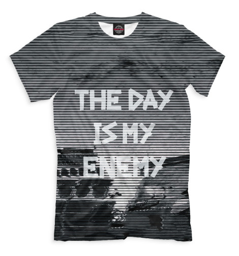 Футболка Print Bar The Day Is My Enemy the enemy the enemy music for the people
