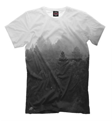 Купить Мужская футболка Лес MAC-889396-fut-2