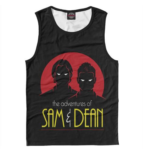 Майка Print Bar Sam & Dean свитшот print bar sam