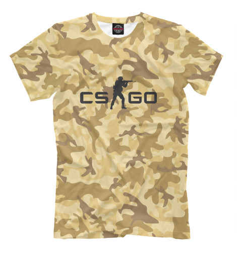 Футболка Print Bar CS GO: Dust свитшот print bar lets go pal