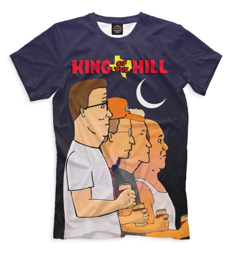 Футболка Print Bar King of the Hill футболка print bar king of the lions