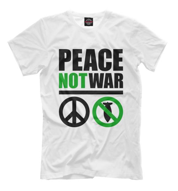 Купить Мужская футболка Peace Not War NDP-164889-fut-2
