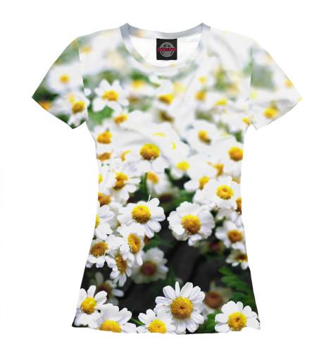 Купить Футболка для девочек Цветок ромашки CVE-751244-fut-1