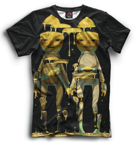 Мужская футболка Граф Лимонхват