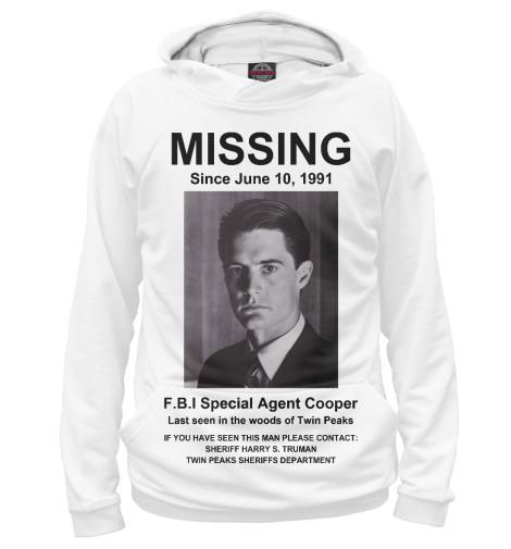 Худи Print Bar Agent Cooper Missing girl missing