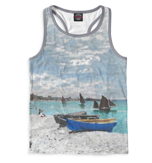 Купить Мужская майка-борцовка Пляж в Сен-Адрессе GHI-920926-mayb-2