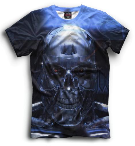 Мужская футболка Терминатор