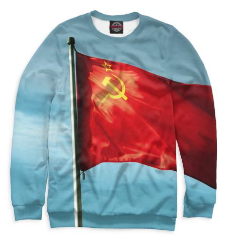 Мужской свитшот Красное знамя