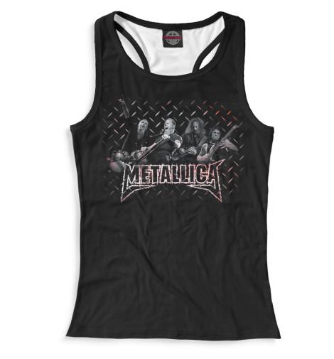 Женская майка-борцовка Metallica