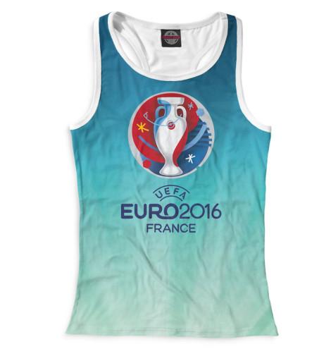 Женская майка-борцовка Евро 2016