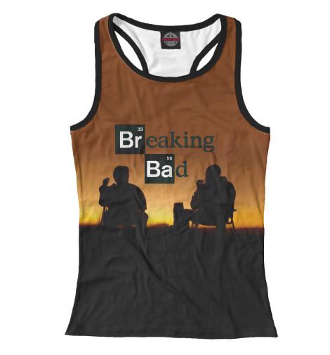 Майка борцовка Print Bar Breaking bad breaking bad блокнот