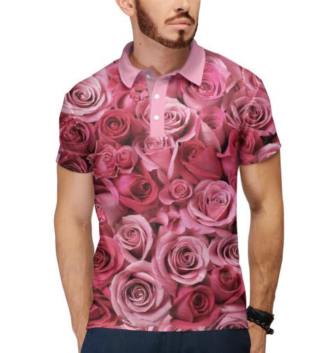 Поло Print Bar Розы все цены