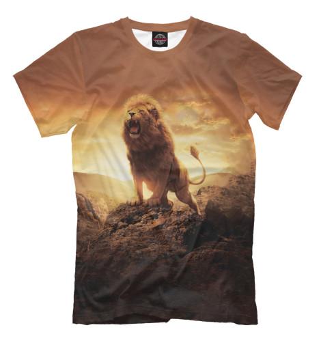 Футболка Print Bar Savannah Lion сандалии savannah savannah sa040awiez63