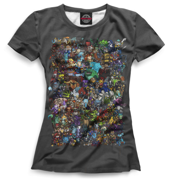 Купить Женская футболка Dota 2 DO2-745429-fut-1