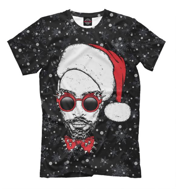 Купить Мужская футболка Хипстер Санта NOV-589174-fut-2