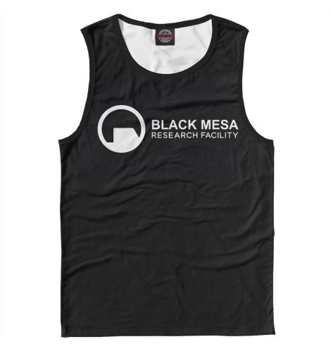 Майка Print Bar Сотрудник Black Mesa lisciani пазл лаборатория 20 игр