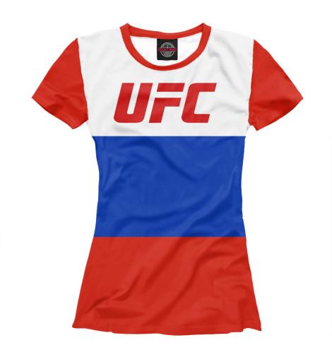 Футболка Print Bar UFC RUSSIA гриль steba fg 95 multi low fat grill