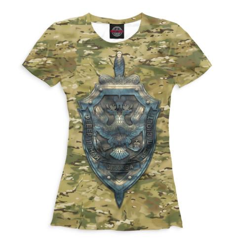 Женская футболка ФСБ