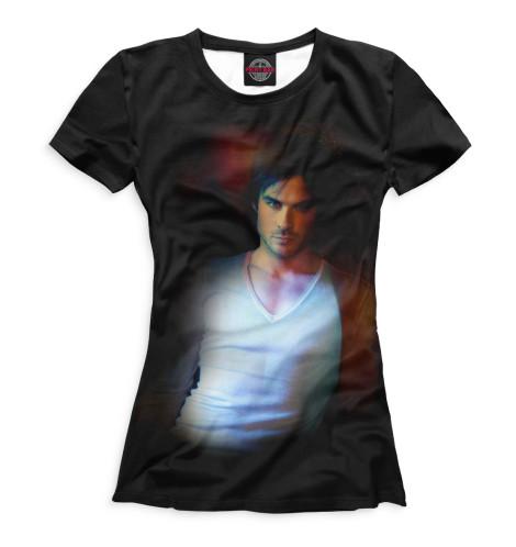 Женская футболка Дэймон Сальваторе