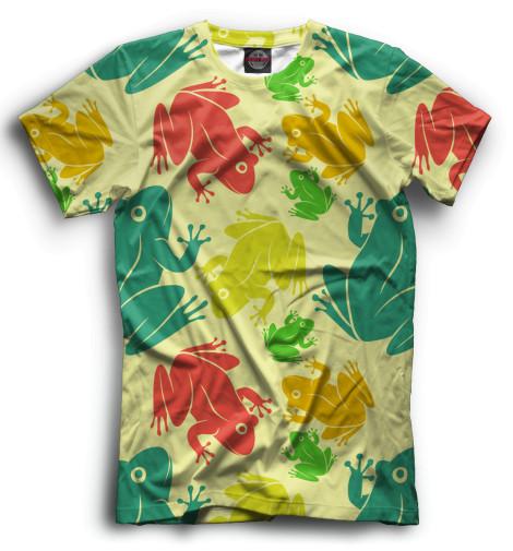 Мужская футболка Лягушки