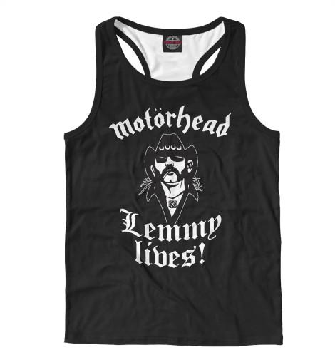 Майка борцовка Print Bar Motorhead. Lemmy Lives. print bar motorhead