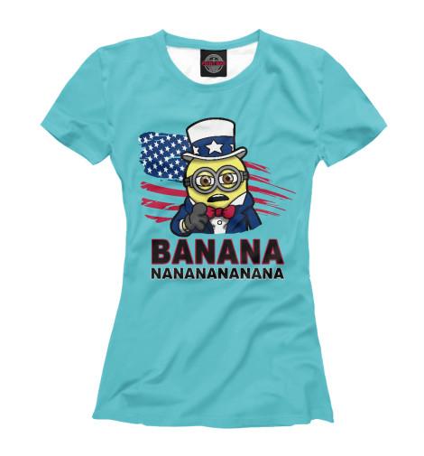 Футболка Print Bar Banana USA майка борцовка print bar banana usa