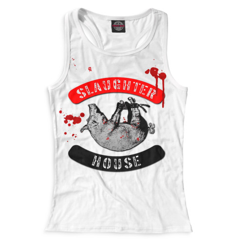 Женская майка-борцовка Slaughterhouse