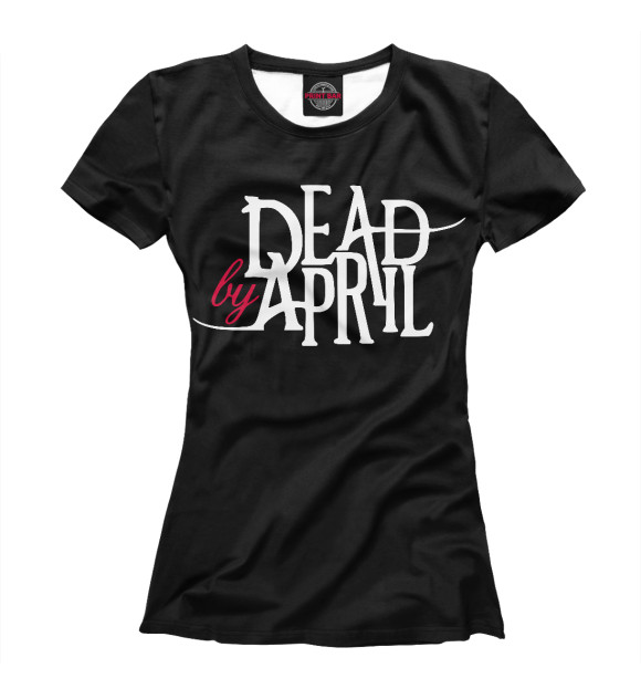 Купить Женская футболка Dead by April MZK-706185-fut-1